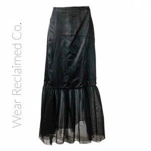 Black Maxi Crinoline - Skirt Extender - Slip